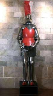 Medieval Knight in Suit of Armor and Sword 2meters 6.5 high