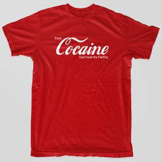 COCAINE Coca Yaho PARTY Rehab NYC Drugs Marijuana Cannabis T Shirt