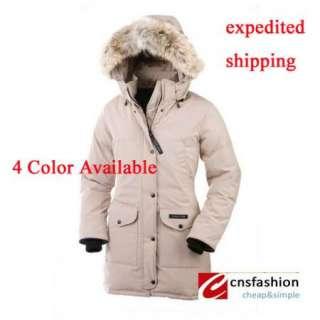 Luxury New Womens goose down winter warm hoodie coat jacket parka SZ