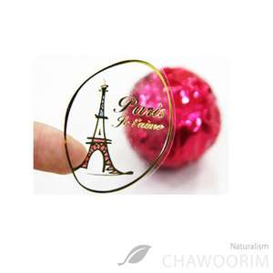 Stickers Packing Material  140pcs The Eiffel Tower )