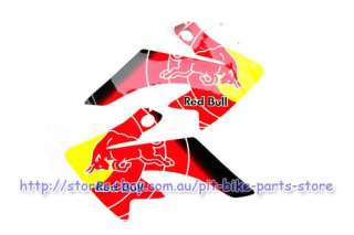 RED BULL Graphics 3M XR/CRF 50 STICKER DECALS 110 125CC