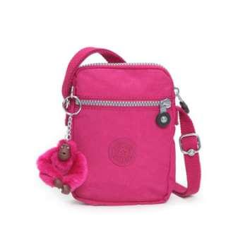 Kipling Kagiso Across Body Bag Carnation Pink BNWT