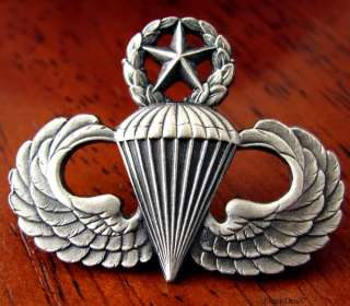 Airborne Master Para Paratrooper PARACHUTE Jump Wings United
