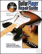 Guitar Player Repair Guide Updated 3rd Ed Book DVD NEW!