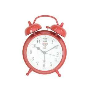 Texas Tech Red Raiders Alarm Clock: Home & Kitchen