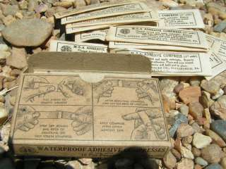 OLD Coal Miners First 1st Aid Mine Kit FREE ship