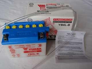 Batterie YUASA YB4LB pr Booster Spirit Stunt Nitro NEUF