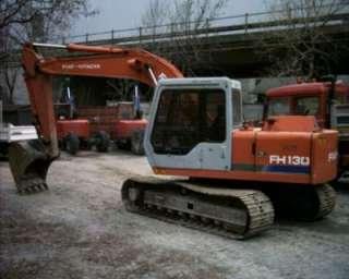 Escavatore fiat hitachi fh 120 a Aosta    Annunci