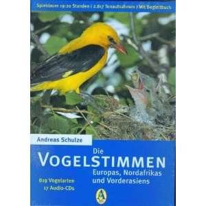 819 Vogelarten auf 17 Audio CDs.: .de: Andreas Schulze: Bücher