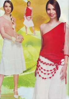 Super dress CROCHET PATTERNS Tops Skirts Cardiagnas Magazine Duplet 79