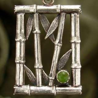Bamboo Jade Pendant: Necklaces & Pendants: WorldofGood by