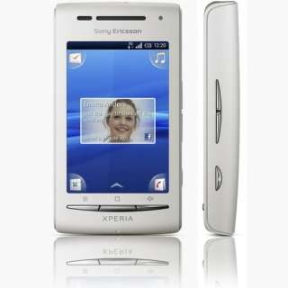 NEW SONY ERICSSON X8 WHITE & PINK MOBILE PHONE UNLOCKED