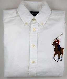 NWT Boys POLO RALPH LAUREN Big Pony Oxford Shirt 14 16