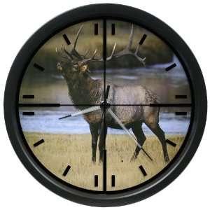La Crosse Technology 14 Inch Wildlife Scope Clock with
