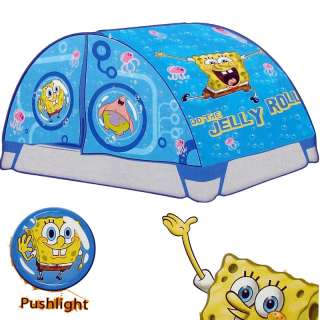 Nickelodeon Spongebob Squarepants Bed Tent W/ Bed Light