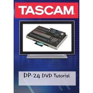 Tascam DP 24 DVD Video Tutorial Manual Help Movies & TV