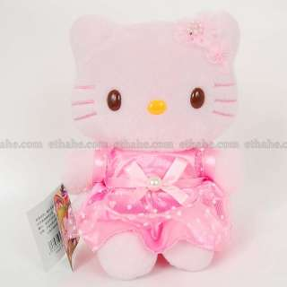 Hello Kitty Plush Doll Stuffed Toy W/ Suction Cup G8OX