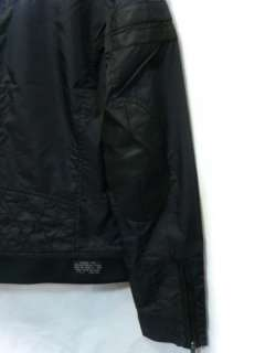 Rider Shoulder Elbow Leather Patches Jarrow Black Biker Jacket