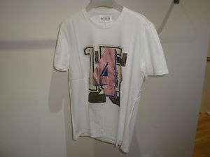 Maison Martin Margiela 10 Mens Printed T Shirt white XL 52