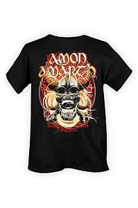 Amon Amarth Viking Skull T Shirt 3XL