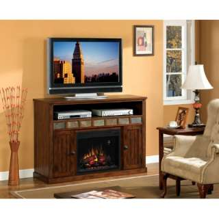 Wildon Home Bailey Electric Fireplace in Old World Oak   DTO3550F