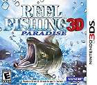 REEL FISHING PARADISE 3D NINTENDO 3DS USATO