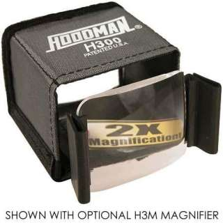 Buy the Hoodman Universal Hood for 2.5 to 3 LCD Viewing Screens on