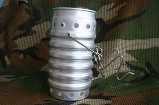 Swiss Army Ranger Volcano Stove Mess Kit Canteen Cooker