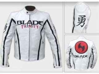 cuero blanca y negra modelo BLADE para moto (6023415)    anuncios