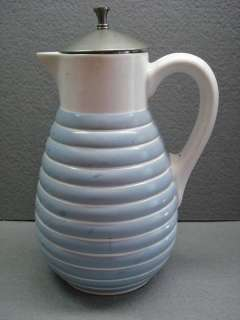Antique GERMANY MAX ROESLER TEA COFFEE CARAFE ~ GERMAN