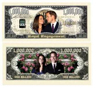 Prince William & Kate Middleton Royal Dollar (10/$4.99)