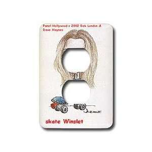 Cartoons   Kate Winslet   Light Switch Covers   2 plug outlet cover