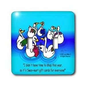 Rich Diesslins Cartoon Days of Christmas TCDC   Larry Miller   Swan