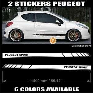 Pegatina Peugeot Sport   106 107 206 207 306 307   E52