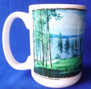 COFFEE MUG Cup Cuppa Golf Ball Lies Poorly Player Well Henebry