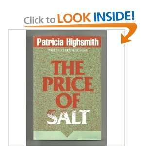 The Price of Salt: Patricia Highsmith, Claire Morgan: Books
