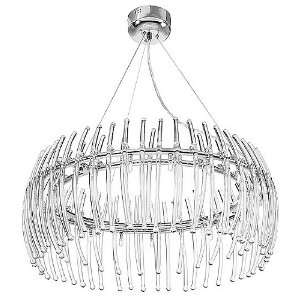 Perseus Series 21 Light 33 Clear Glass Pendant Chandelier 55522