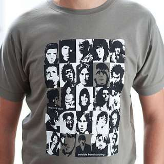 iconic rock star t shirt by invisible friend  notonthehighstreet