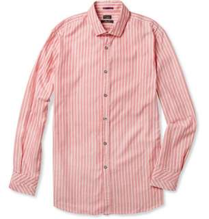 Paul Smith London Striped Washed Cotton Oxford Shirt  MR PORTER