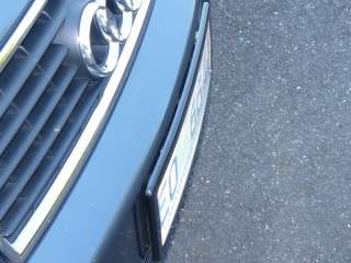 Number Plate Cover   Euro Style   520 x 112mm plate