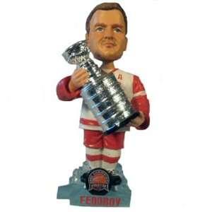 Sergei Fedorov 2002 Stanley Cup Champion Bobble Head Doll