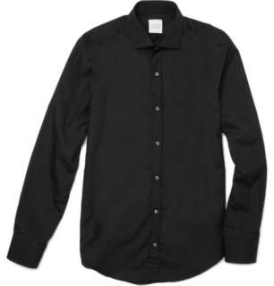 Casual shirts  Casual shirts  Pleated Collar Cotton Shirt