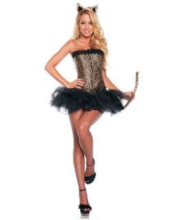 Womens Sexy Leopard Costume  Sexy Cat Halloween Costumes
