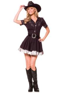& Cowboy Costumes Cowgirl Costumes Adult Rhinestone Cowgirl Costume