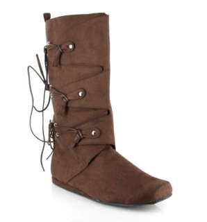 Mens Brown Boots   Costume Accessories   Boots