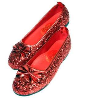 Wizard of Oz Ruby Slippers Child , 6267
