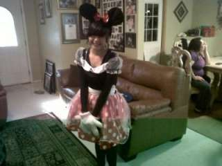 Disney Minnie Mouse Deluxe Adult Costume, 7717