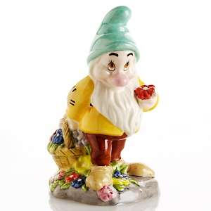 Royal Doulton Disney Bashful Dwarf Figurine