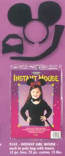 Mouse Instant Child Costume   Accessories & Makeup