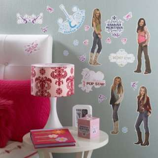 Hannah Montana Removable Wall Decorations   Costumes, 41579